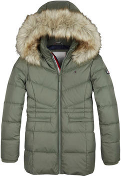 Tommy Hilfiger Essential Recycled Polyester Down Coat thyme (KG0KG04783-LLP)