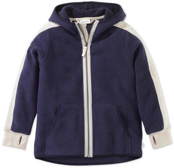 hessnatur Kinder Fleece Jacke (47915) dunkelblau