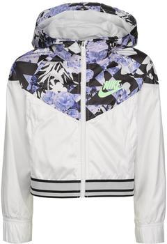 Nike Graphic Jacket Sportswear Windrunner (CU8204-100) white/black/barely volt