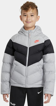 Nike U Nsw Filled Jacket (CU9157) light smoke grey/black/light smoke grey/bright crimson
