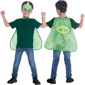 Amscan Child Costume PJ Masks Gekko Cape Set