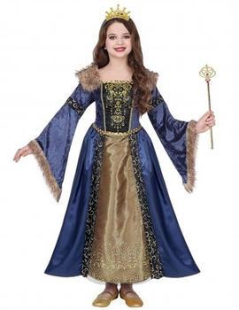 Widmann Medieval winter queen costume (8-10 years)
