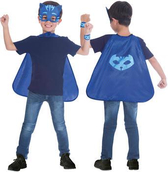 Amscan Child Costume PJ Masks Gekko Cape Set Blue