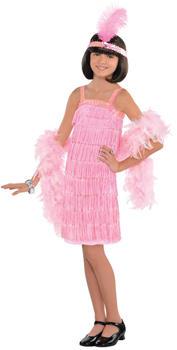 Amscan Child Costume Pink Flapper