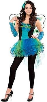 Amscan Kinderkostüm Peacock Diva (999457)