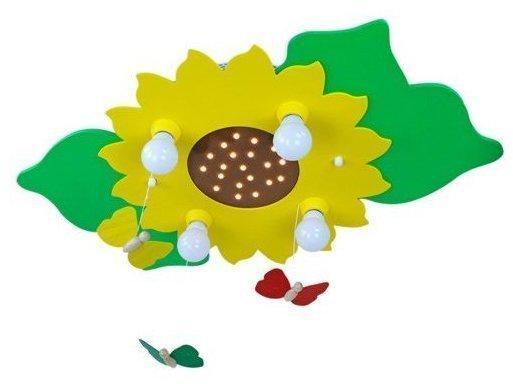 Elobra Sonnenblume und Schmetterlinge (128305)