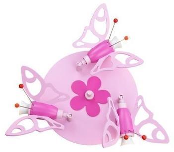 Elobra Falter 3-flg. rosa