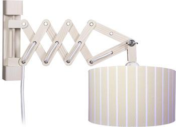 waldi-leuchten-wandleuchte-schere-stripes-xl-beige-mit-schalter-1-flammig