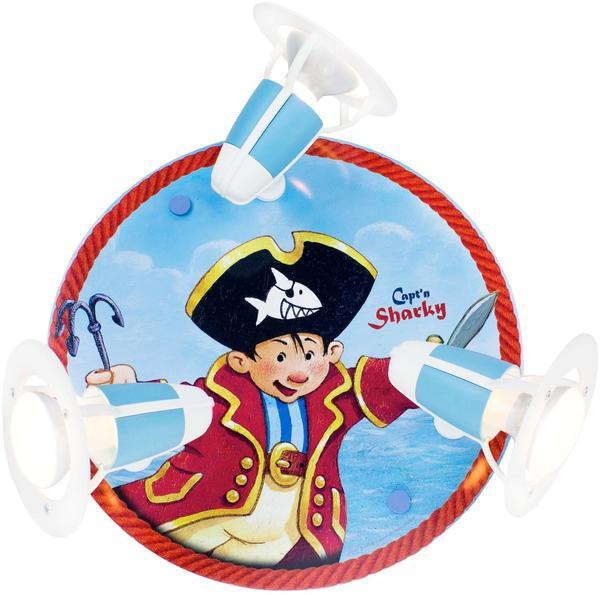 Elobra Deckenrondell Capt'n Sharky sticht in See (130841)