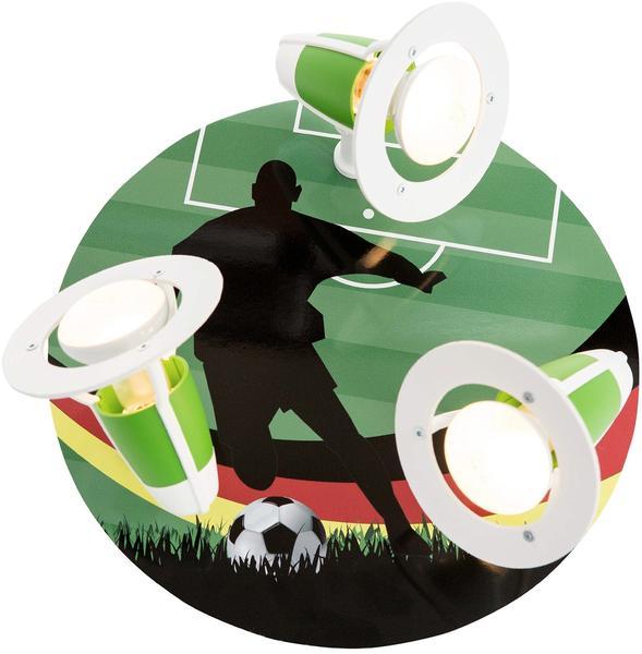 Elobra Rondell Fußball, bunt , grün , Fußballer 130377