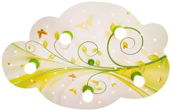 Elobra Wolke Blume-Phantasie gelb (131114)