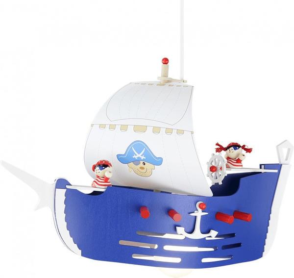 Elobra Piratenschiff 1-flg. dunkelblau