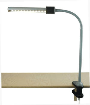 Niermann LED Klemmleuchte grau/schwarz (240)