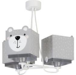 Dalber Kinderzimmer-Hängelampe 3-flammig Little Teddy