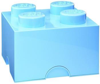 LEGO Aufbewahrungsstein mit 4 Noppen - hellblau
