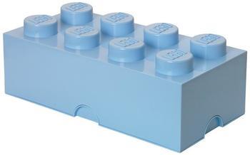 LEGO Aufbewahrungsstein 8 Noppen - hellblau