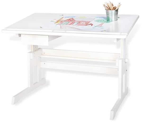 Pinolino Lena Schreibtisch Weiß Lasiert 201379 Test Ab 13522