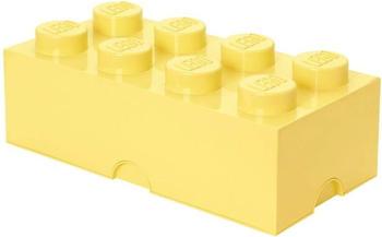 LEGO Aufbewahrungsstein 8 Noppen - coolgelb