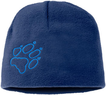 Jack Wolfskin Fleece Cap Kids royal blue