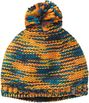 Jack Wolfskin Kaleidoscope Knit Cap Kids desert orange