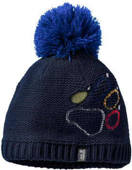 Jack Wolfskin Paw Knit Cap Kids night blue