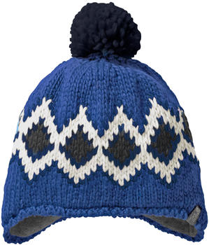 Jack Wolfskin Diamond Knit Cap Kids coastal blue