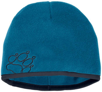 Jack Wolfskin Baksmalla Fleece Hat Kids glacier blue
