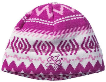 Jack Wolfskin Scandic Cap Kids dark peony all over