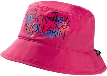 Jack Wolfskin Supplex Magic Forest Hat Kids tropic pink