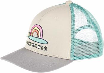 Patagonia Kids Trucker Hat single fin/sunrise pumice