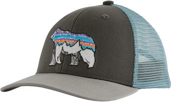 Patagonia Kids Trucker Hat fitz bear/forge grey