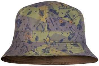 buff-bucket-hat-kids-camp-khaki
