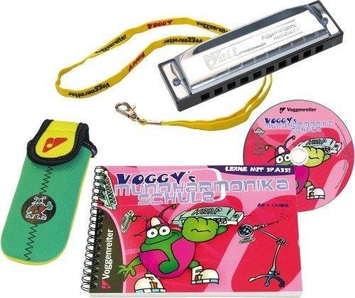 Voggenreiter Voggy's Mundharmonika-Set