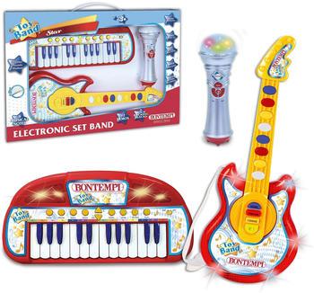 Bontempi Keyboard, Gitarre und Mikrofon Set