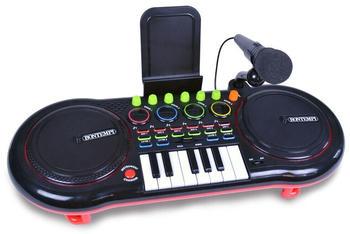 Bontempi DJ-Mischer mit Mikrofon und Tastatur