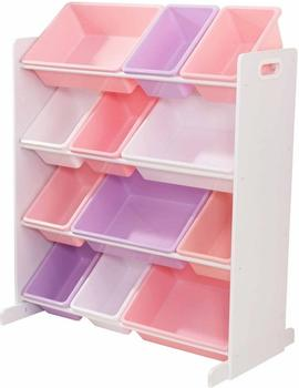KidKraft Aufbewahrungsboxen weiß/pastellfarbe (15450)