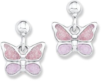 Prinzessin Lillifee Ohrstecker Schmetterlinge rosa (523028)