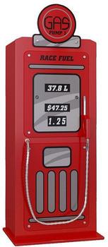Vipack Kleiderschrank Tankstelle (1-türig) - Rot