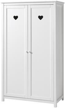 Vipack Kleiderschrank Amori ( 2-türig) - Weiß