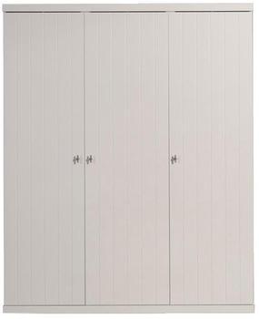 Vipack Kleiderschrank Robin (3-türig) - Weiß