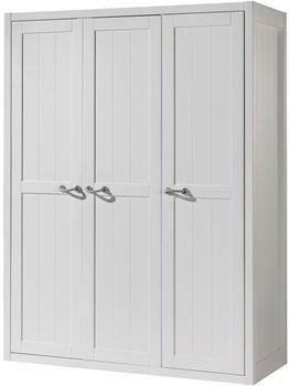 Vipack Kleiderschrank Lewis (3-türig) - Weiß