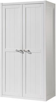 Vipack Kleiderschrank Lewis (2-türig) - Weiß
