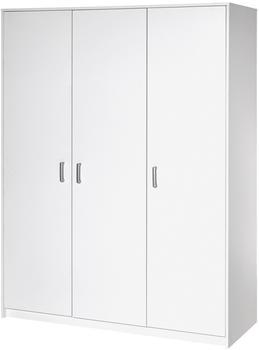 Schardt Kleiderschrank Classic 3-türig Weiß (064930200)