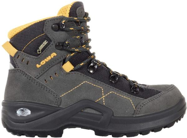 Lowa Kody III GTX Mid Junior anthrazit/yellow