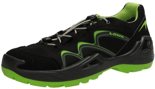 Lowa Innox GTX Lo Junior black/limone