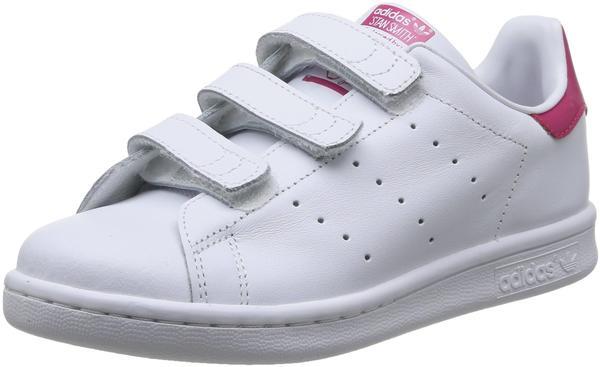 Adidas Stan Smith CF K ftwr white/ftwr white/bold pink
