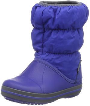 Crocs Winter Puff Kids cerulean blue/light grey royal