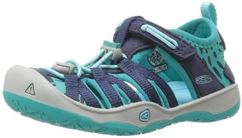 Keen Moxie Sandal Kids dress blue/viridian