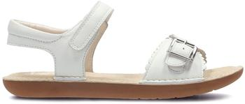 Clarks IvyBlossom Inf white leather