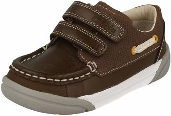 Clarks Lilfolkfun Inf brown leather